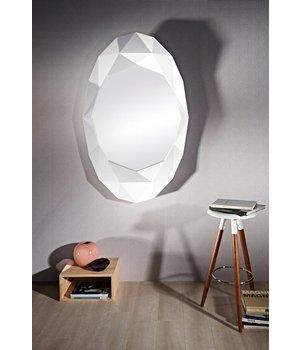 Deknudt wall mirror 'Precious' in white