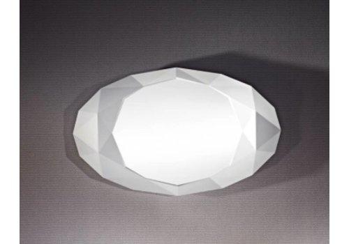 Deknudt wall mirror in white