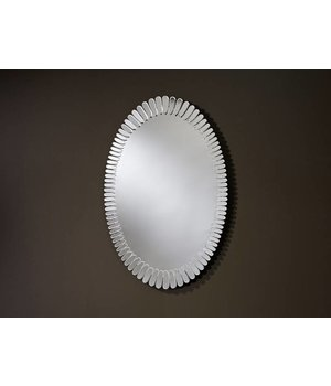 Deknudt Oval shaped Design mirror 'Bloom'