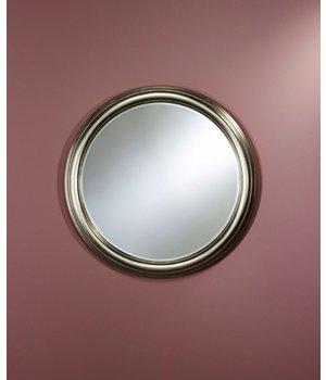 Deknudt Silver mirror round 'Ring' diameter 91cm