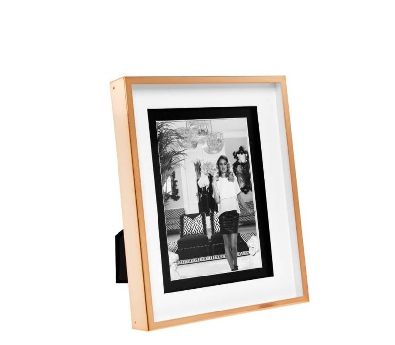 Large Picture frame Gramercy L in rose gold