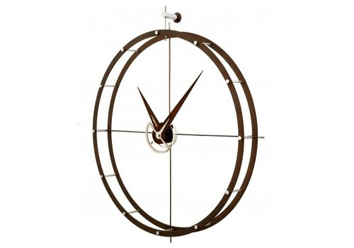 Nomon Design wall clock - Doble O n