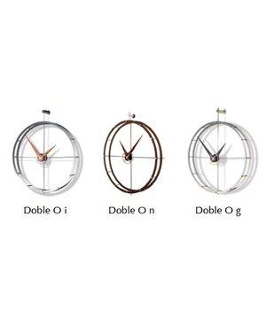 Nomon Design wall clock 'Doble O n' diameter 70cm
