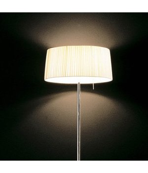 Contardi Floor lamp design 'Divina' with fabric shade, height 185cm