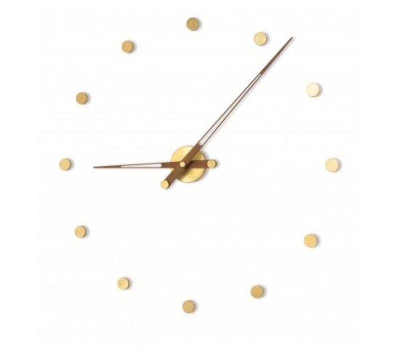 Moderne Uhr 'Rodón Gold n' in 70cm