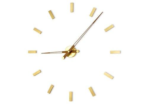 Nomon Large wall clock - Tacón Gold N