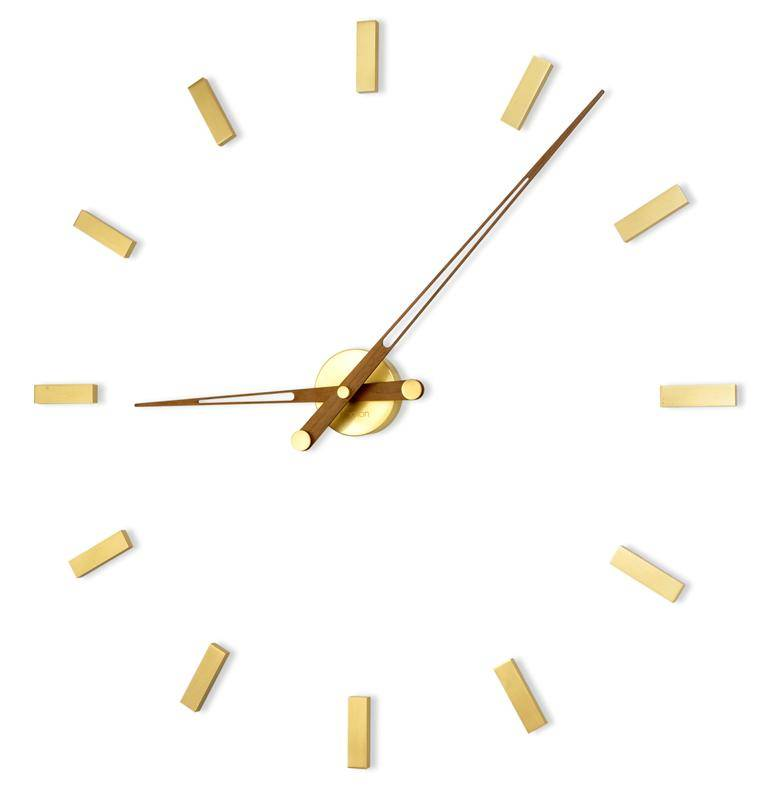 Wanduhr Groß nomon wanduhr groß tacón gold n 105 cm wilhelmina designs