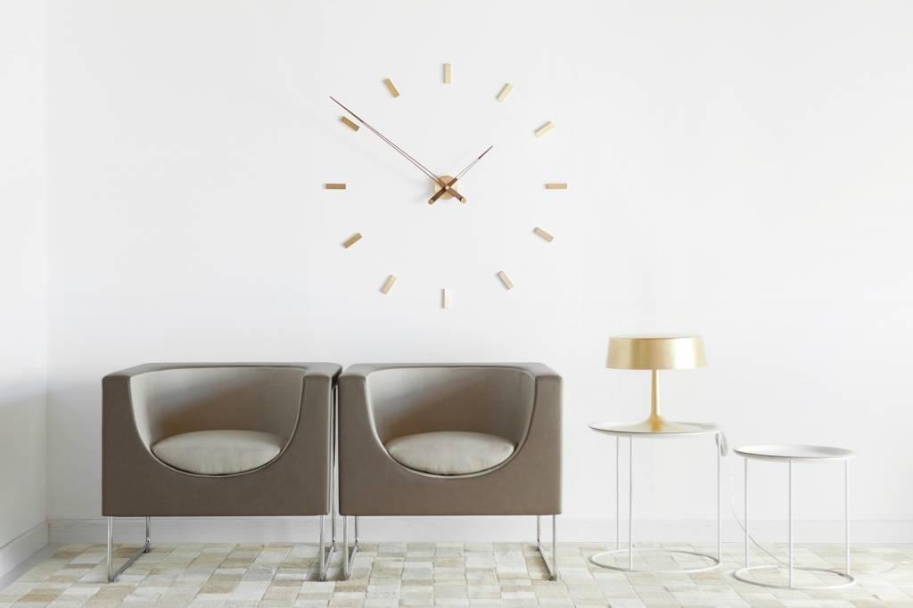 Nomon wandklok groot 39 tac n gold n 39 105 cm wilhelmina designs - Moderne klok ...