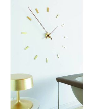 Nomon Large wall clock 'Tacón Gold N' 105cm