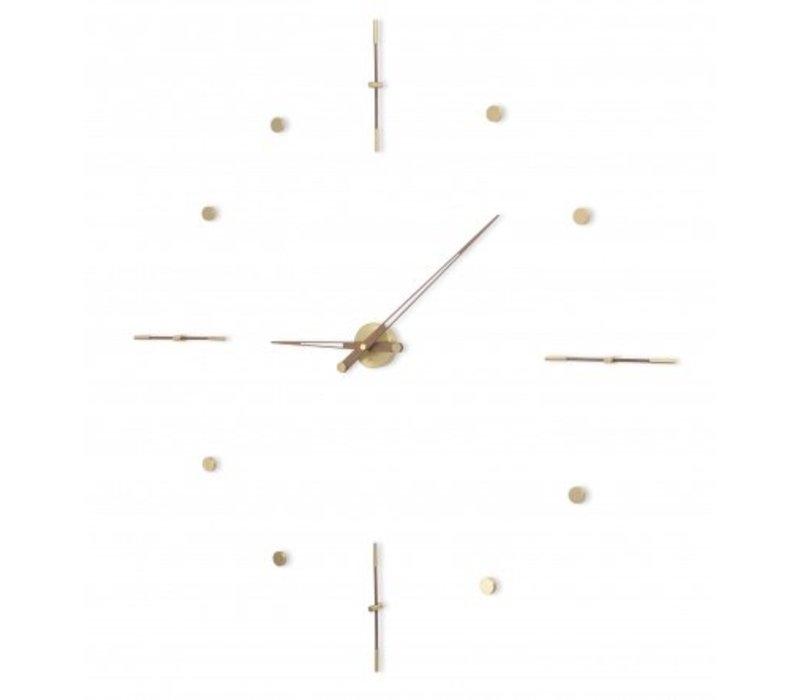 XXL klok 'Mixto Gold N' diameter 110cm handgemaakt in Spanje