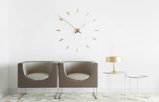 Interior wall clocks