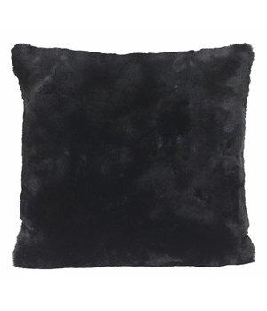 Winter-home Fellkissen 'Seal Black' in 45cm x 45cm