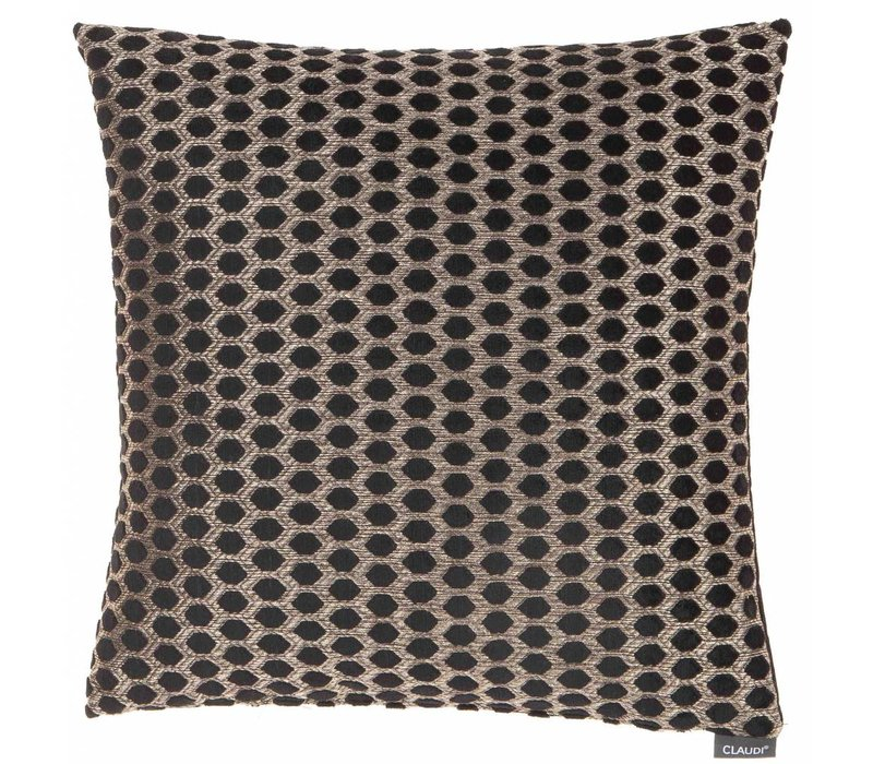 Cushion Sergio in color Black Gold