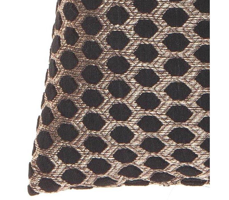 Zierkissen Sergio im Farbe Black Gold