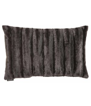 Claudi Cushion Ottavia in color Dark Taupe