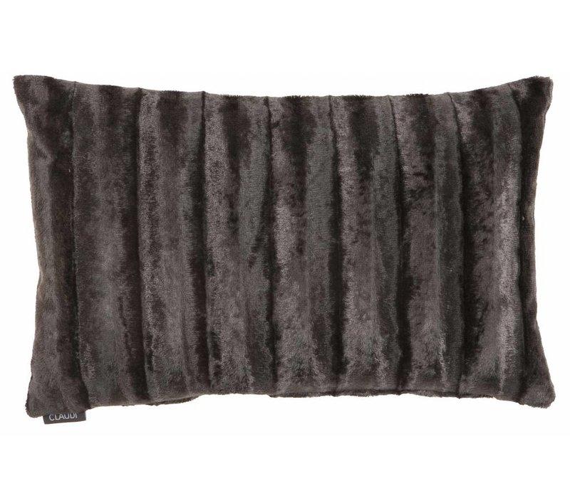 Cushion Ottavia in color Dark Taupe