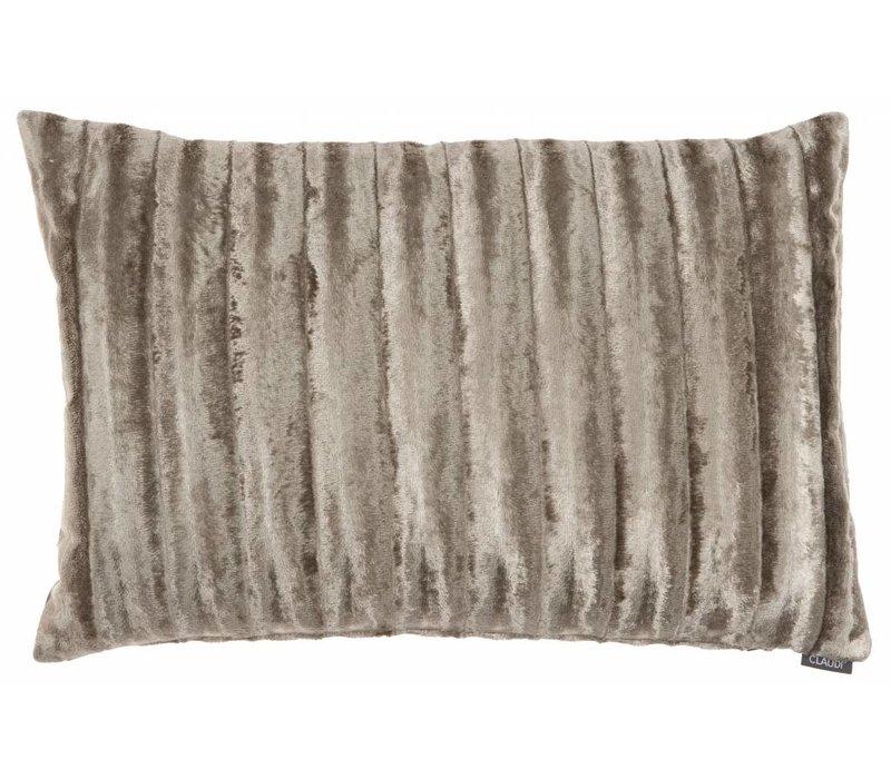 Cushion Ottavia in color Taupe