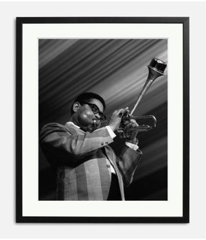 Dizzy Gillespie live on stage in 1963