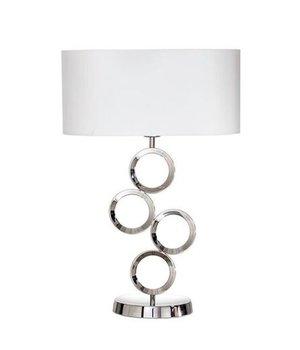 BRAID Grote tafellamp met sierlijke voet, hoogte 64cm