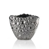 BRAID Deko Vase Platin - Small