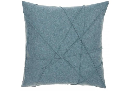 CLAUDI Design Cushion Gregor Azure