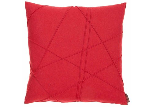 CLAUDI Design Cushion Gregor Red