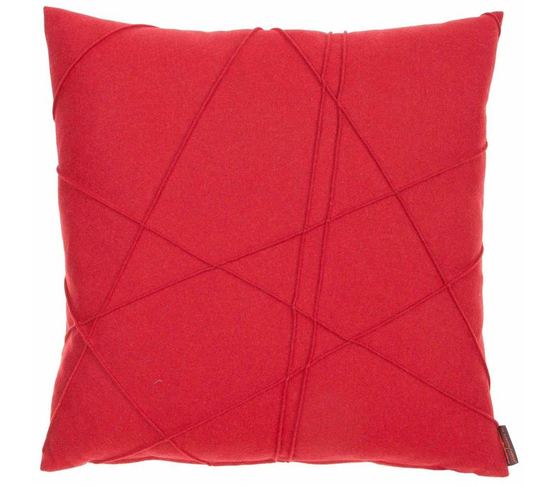 Cushion Gregor color Red
