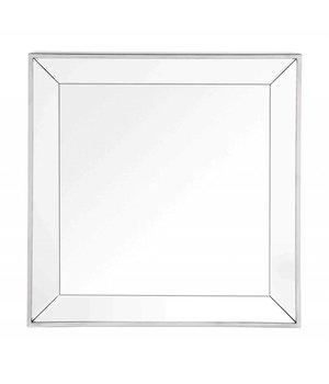 Eichholtz Quadratischer Spiegel mit Spiegelglas Rahmen 60 x 60 cm