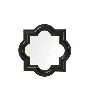 Eichholtz Schwarze Spiegel Dominion 50x50cm
