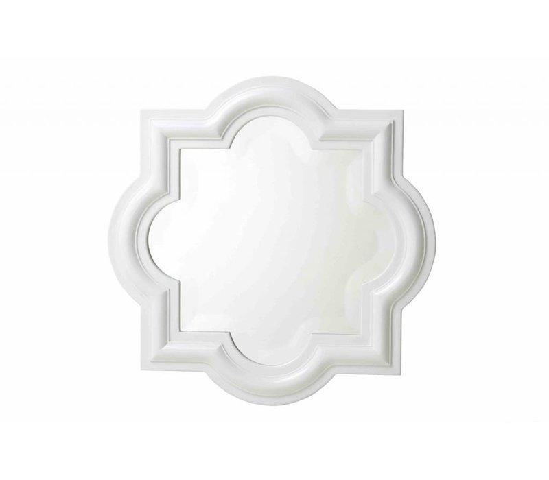 Framed mirror 'Dominion White' 50 x 50cm