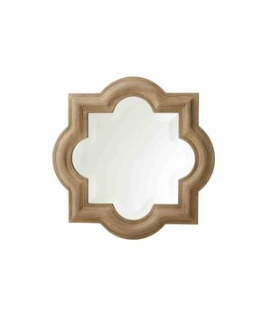 Eichholtz Houten spiegel met lijst 50x50cm