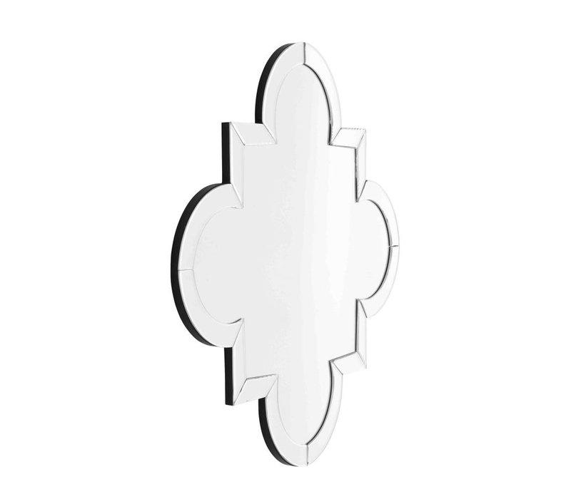 Design mirror 'Mellon' 76,5cm x 76,5cm