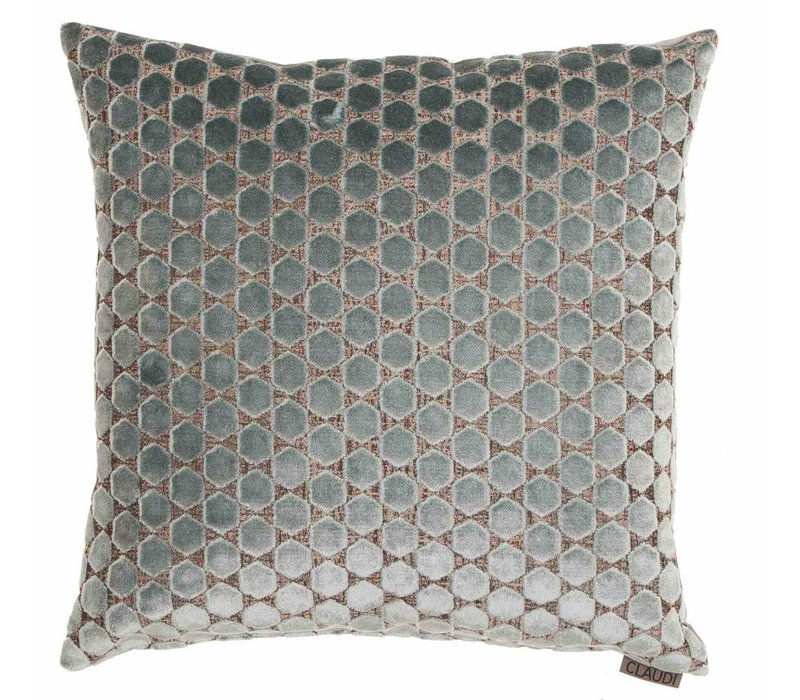 Cushion Orsina in color Light Blue