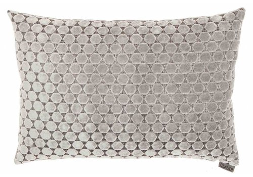 CLAUDI Chique Cushion Orsina Silver