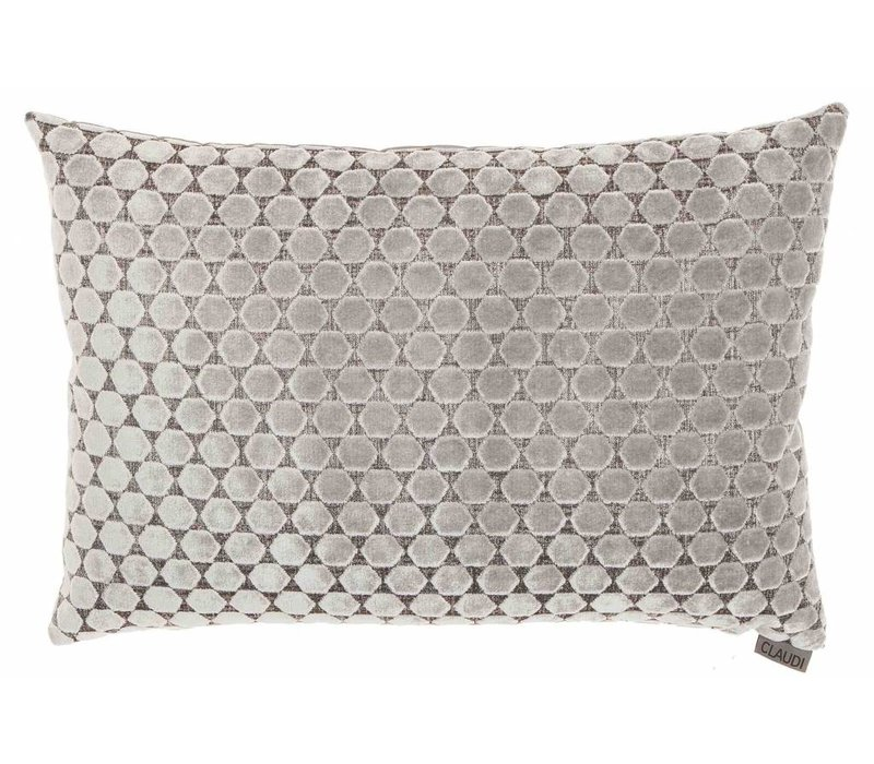 Cushion Orsina in color Silver