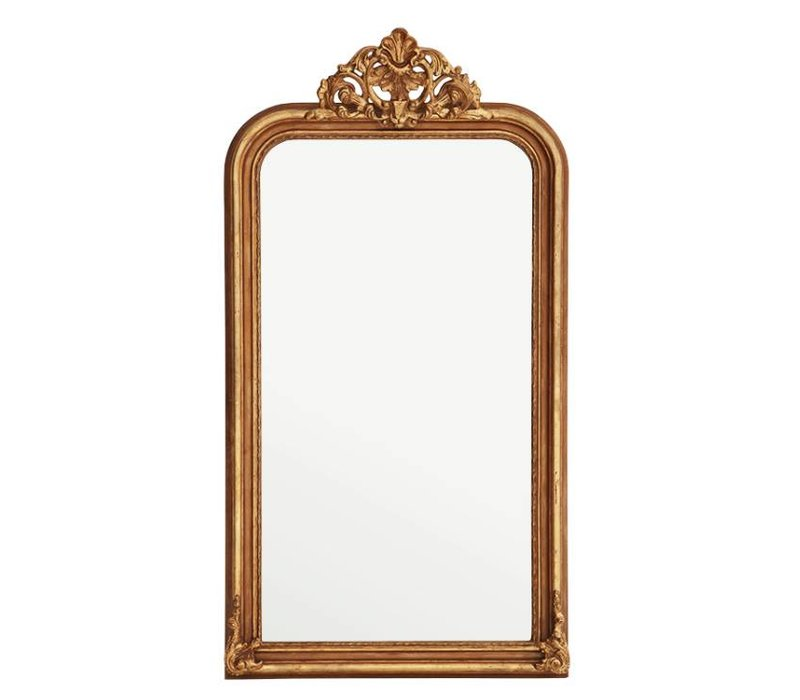 Wall mirror 'Boulogne Guilded' 90 x 170cm