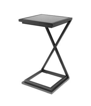Eichholtz Side table 'Cross Black' 33 x 33 x 60cm (h)