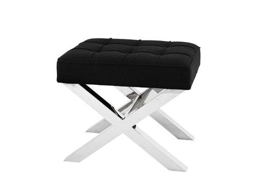 Eichholtz Small stool black