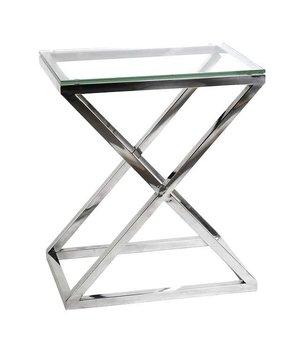 Eichholtz Couchtisch Glas - Criss Cross High 62 x 42 x 72cm (h)