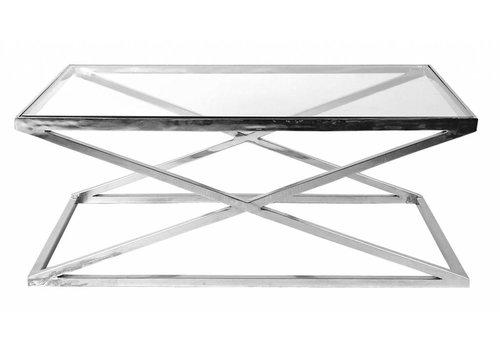 Eichholtz Glazen salontafel - Criss Cross