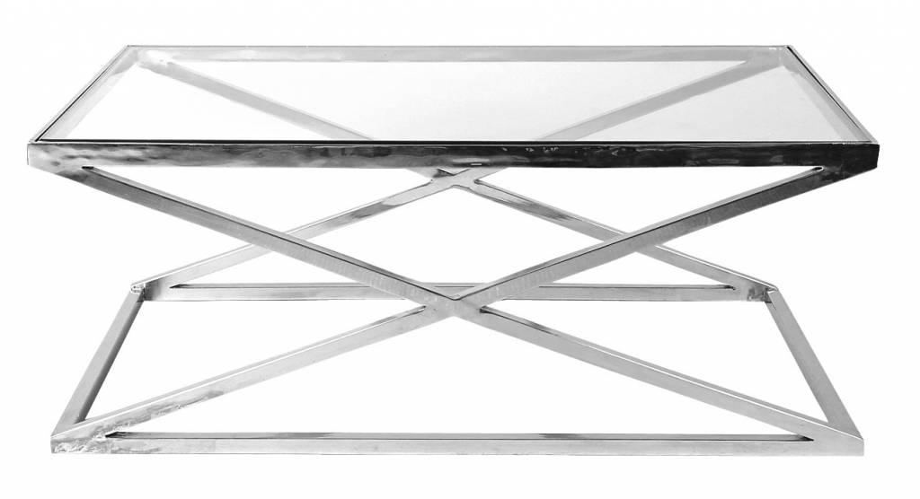 Tafel Prullenbak Rvs : Glazen salontafel wilhelmina designs