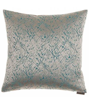 Claudi Throw Pillow Primus Aqua