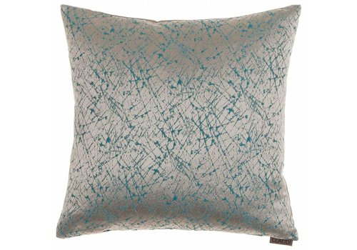 CLAUDI Chique Throw pillow Primus Aqua
