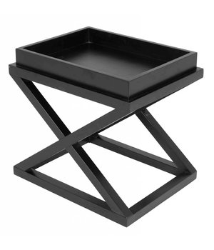 Eichholtz Side table black 'Mcarthur' 61 x 48 x 57cm (h)