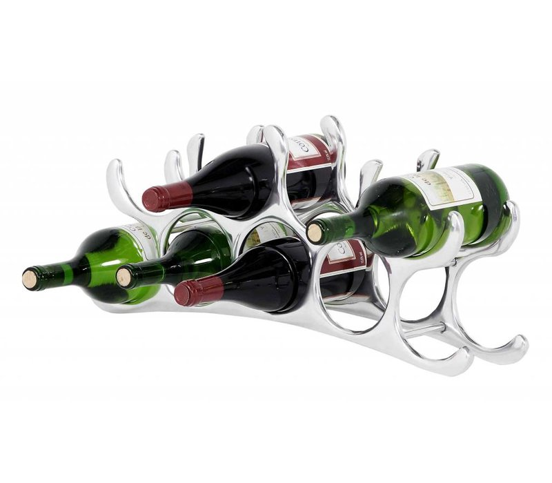 Design wijnrek 'Alboran M' voor 9 flessen