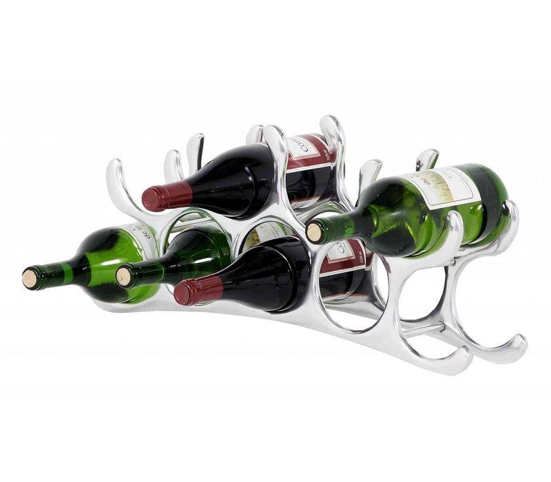 Design wine rack 'Alboran M' for 9 bottles