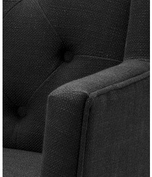 Eichholtz Esszimmerstuhl mit Armlehnen - Boca Raton schwarz