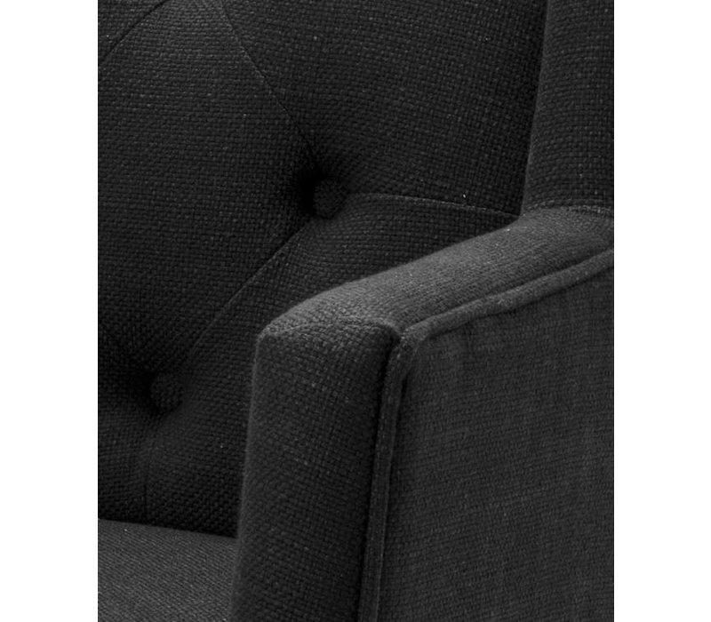 Esszimmerstuhl mit Armlehnen - Boca Raton schwarz