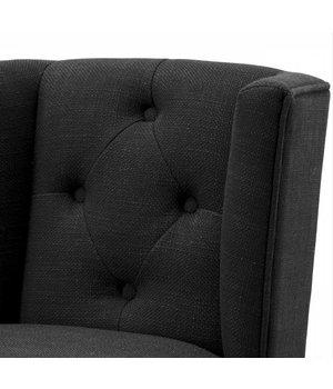 Eichholtz Dining chair black - Boca Raton