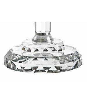 Eichholtz Kristallglas Kerzenständer - Crawford L 46 x 77 cm (h)